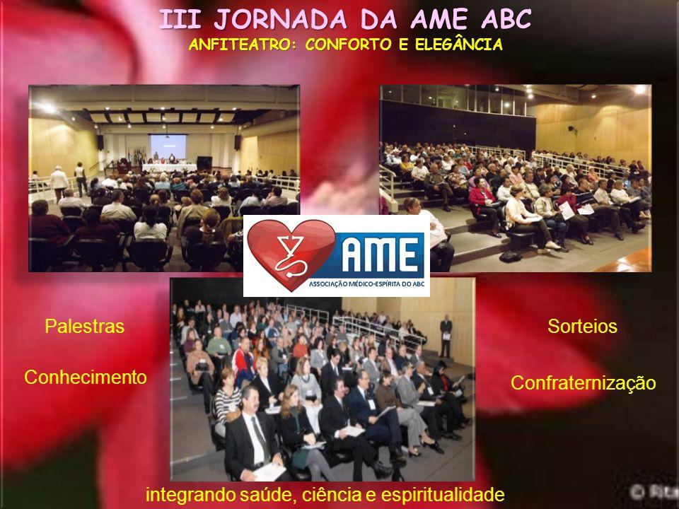 III JORNADA DA AME-ABC HOSPITAL ESTADUAL MARIO COVAS - SANTO ANDRÉ