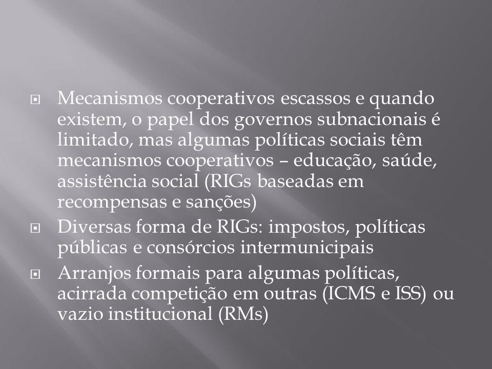  Em um país federal, de dimensão continental e alta desigualdade, a liderança federal e a cooperação entre entes governamentais nas políticas públicas nacionais é crucial na fase inicial do desenho da política