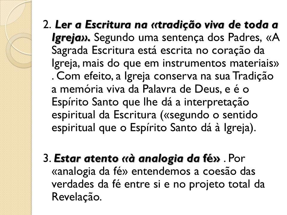 OS SENTIDOS DA ESCRITURA 115.