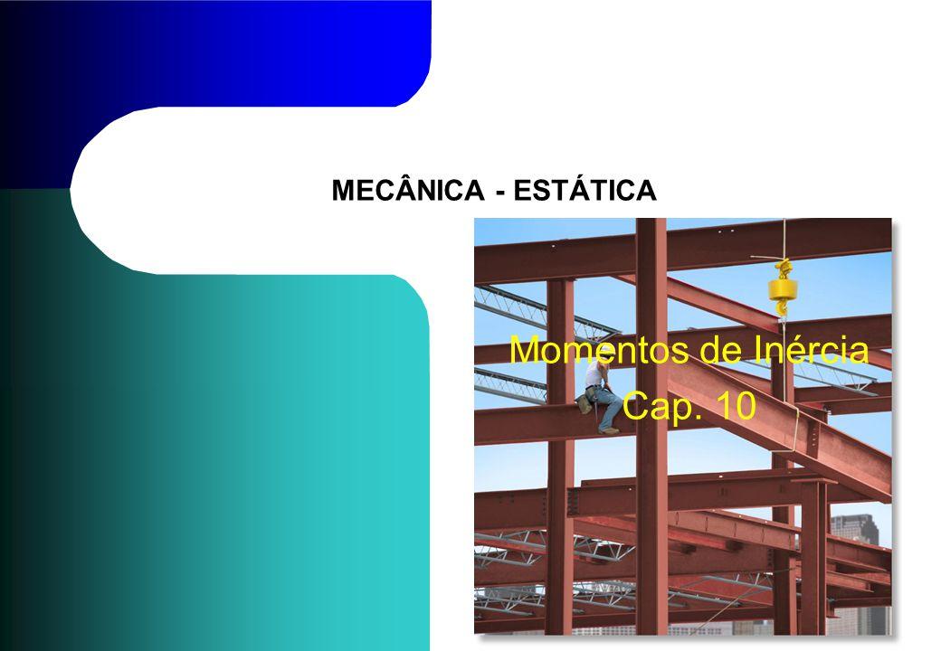MECÂNICA - ESTÁTICA Momentos de Inércia Cap. 10