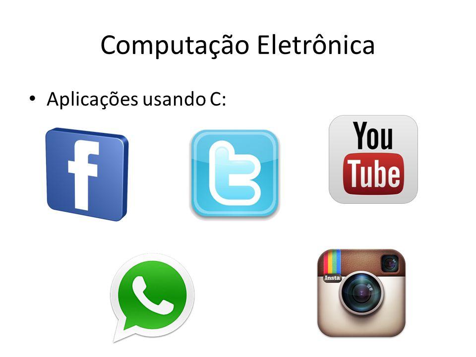 Computação Eletrônica O material usado no curso estará disponível na página da disciplina: www.cin.ufpe.br/~lma3/ce Ainda esta com o conteúdo antigo!!