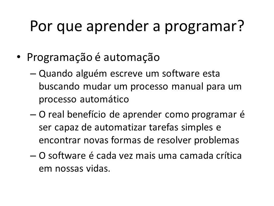 Por que aprender a programar.