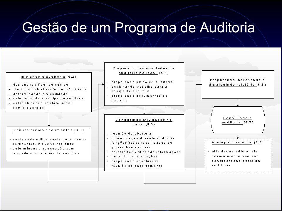 Gestão de um Programa de Auditoria