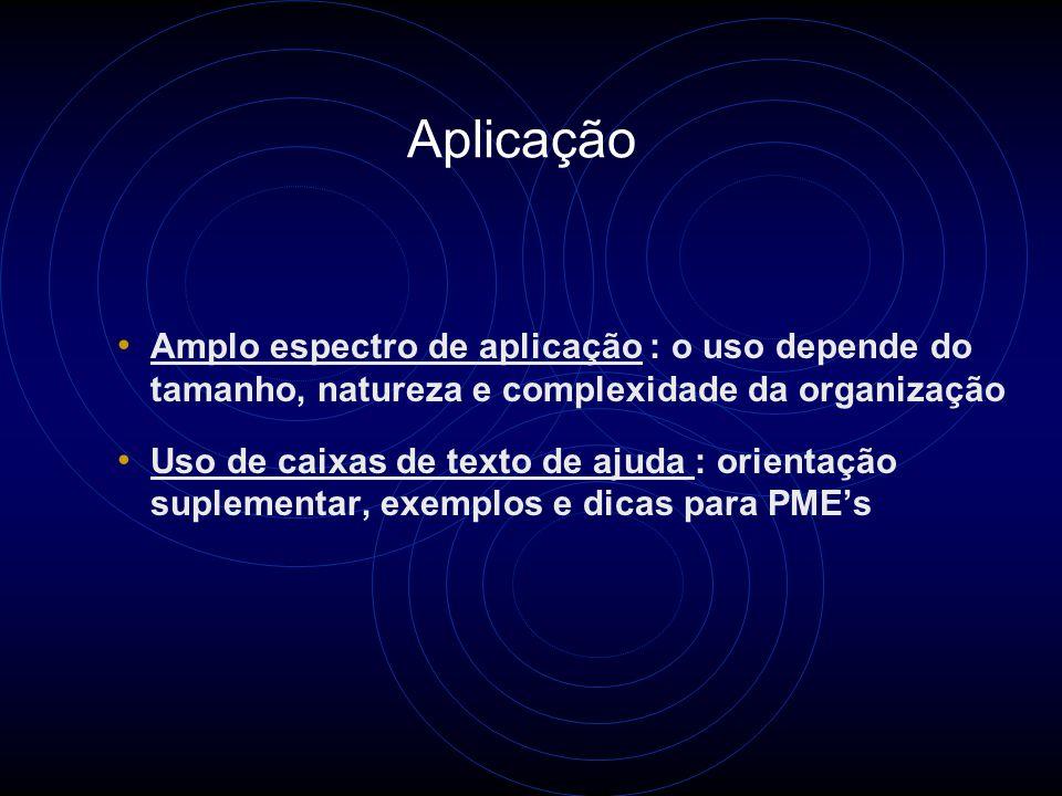 Aplicação Auditorias de sistemas de gestão, para o gerenciamento de programas de auditorias e competência de auditores Usuários: Auditores, organizações com Sistemas de Gestão, organismos de treinamento de auditores, de certificação de auditores, de certificação de Organizações, de credenciamento, etc..