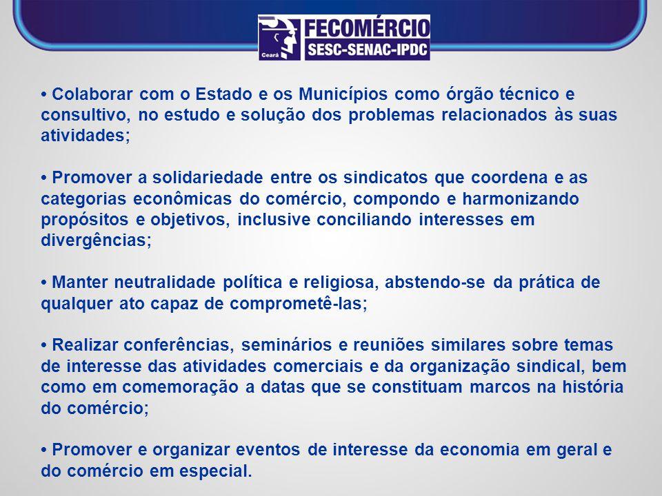 SISTEMA DE EXCELÊNCIA EM GESTÃO SINDICAL (SEGS) O SEGS foi implantado no Ceará em 2008, a fim de incentivar e permitir que a FECOMÉRCIO/CE e os seus sindicatos filiados desenvolvam práticas de excelência em suas gestões.