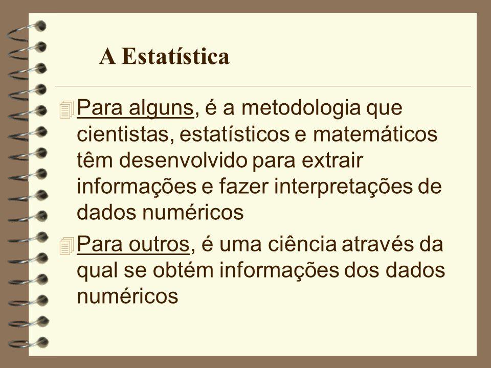 4 Para alguns, é a metodologia que cientistas, estatísticos e matemáticos têm desenvolvido para extrair informações e fazer interpretações de dados nu
