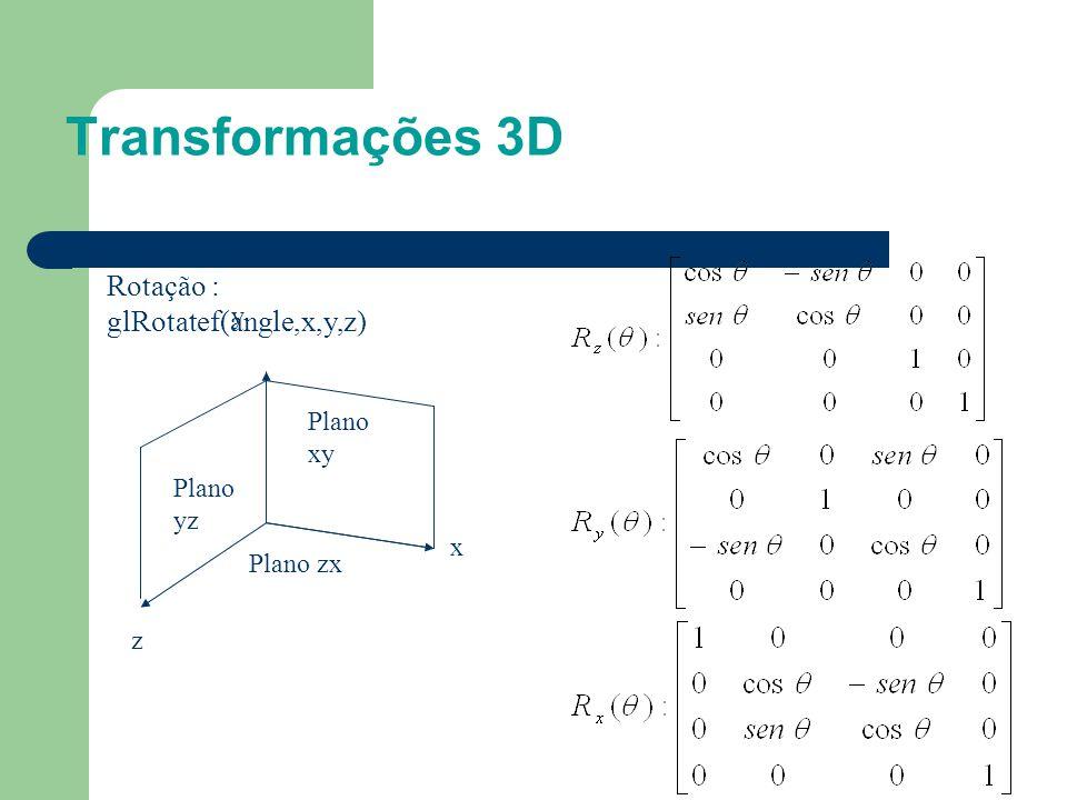 Transformações 3D