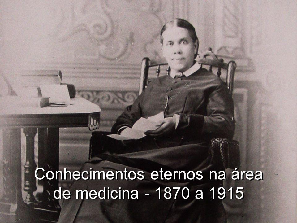 Conhecimentos eternos na área de medicina - 1870 a 1915