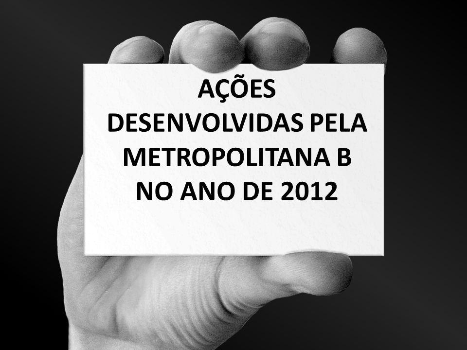 I FÓRUM DOS ESPECIALISTAS DE EDUCAÇÃO METROPOLITANA B Canto da Siriema / 2012