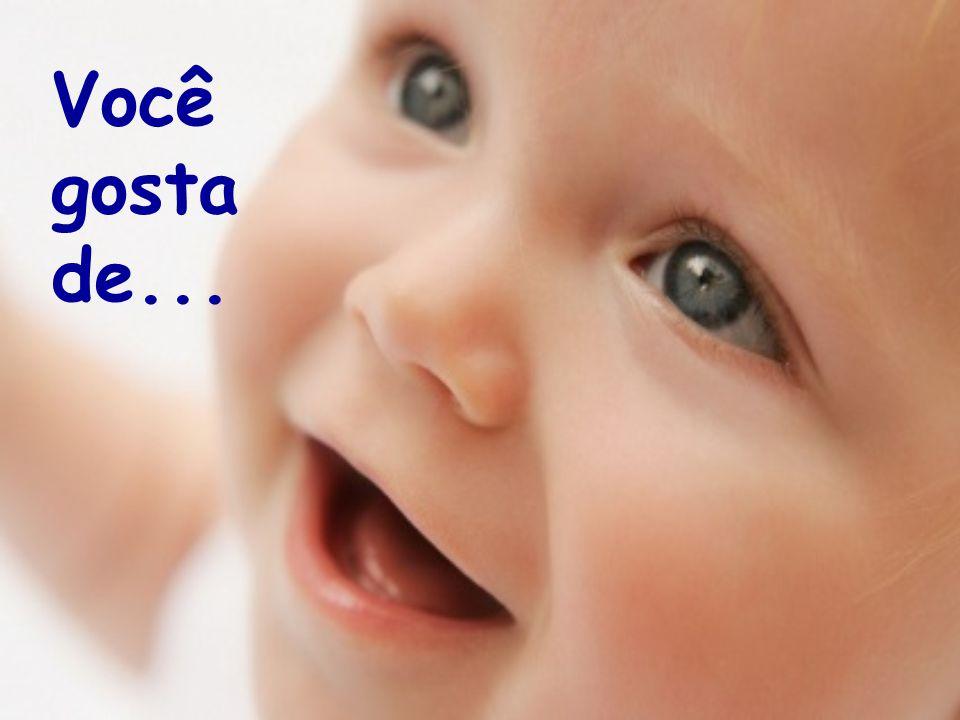Ser criança é ser alegre...É ter amor no coração...