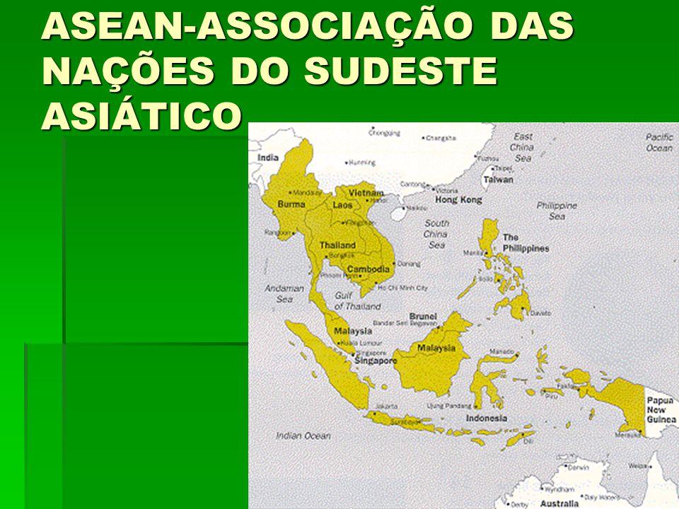 ASEAN-ASSOCIAÇÃO DAS NAÇÕES DO SUDESTE ASIÁTICO