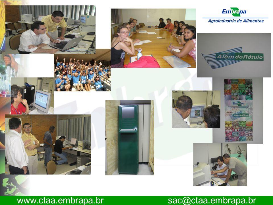 www.ctaa.embrapa.br sac@ctaa.embrapa.br