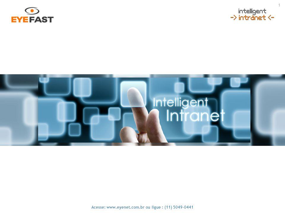 12 Acesse: www.eyenet.com.br ou ligue : (11) 5049-0441 Contatos Nesta área o usuário pode cadastrar todos seus contatos, comerciais, equipe, fornecedores, amigos etc