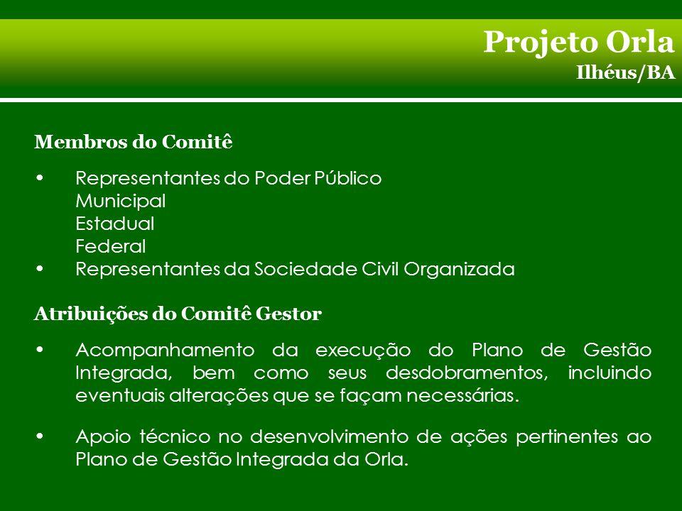 Projeto Orla Ilhéus/BA Fiscalização na aplicação dos recursos financeiros alocados para o desenvolvimento das ações previstas no Plano de Intervenção.