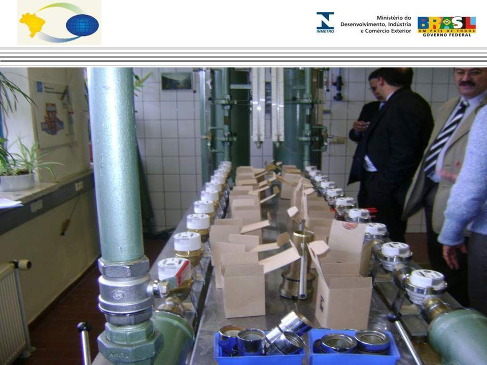 Laboratório de Hidrômetro