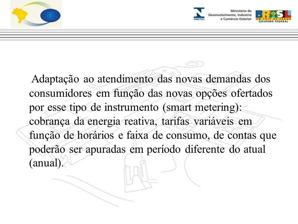 Adaptação ao atendimento das novas demandas dos consumidores em função das novas opções ofertados por esse tipo de instrumento (smart metering): cobra
