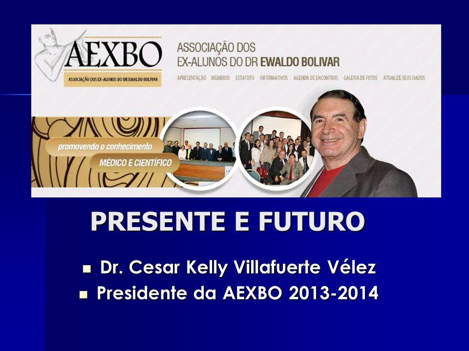 PRESENTE E FUTURO Dr.Cesar Kelly Villafuerte Vélez Dr.