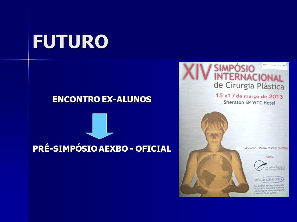 FUTURO ENCONTRO EX-ALUNOS PRÉ-SIMPÓSIO AEXBO - OFICIAL