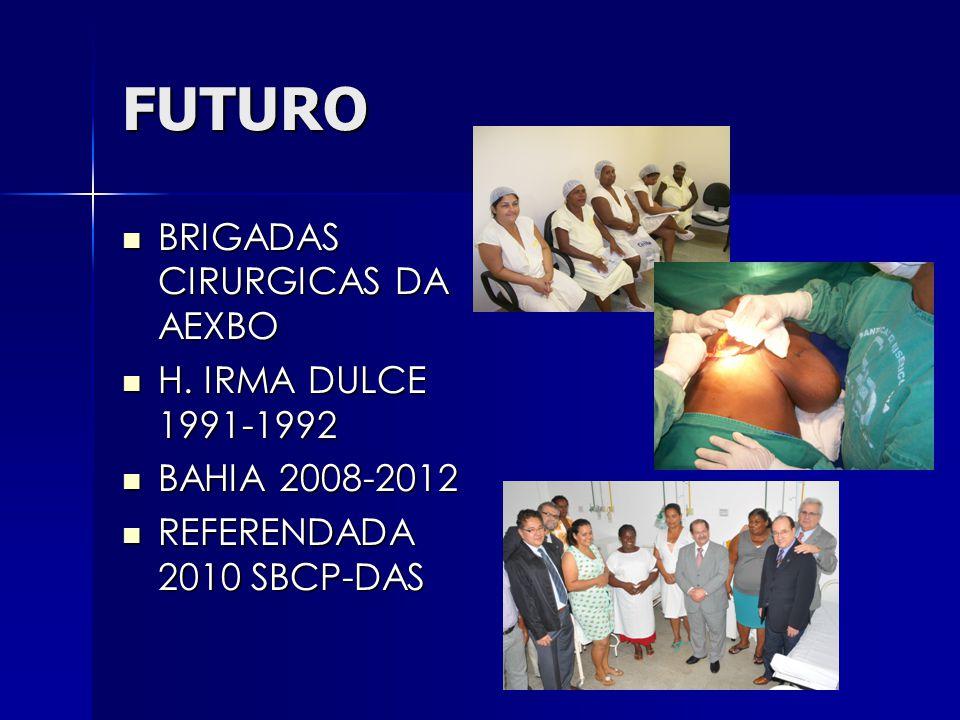 FUTURO BRIGADAS CIRURGICAS DA AEXBO BRIGADAS CIRURGICAS DA AEXBO H.