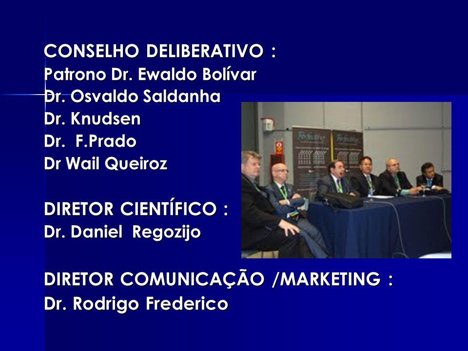 CONSELHO DELIBERATIVO : Patrono Dr.Ewaldo Bolívar Dr.