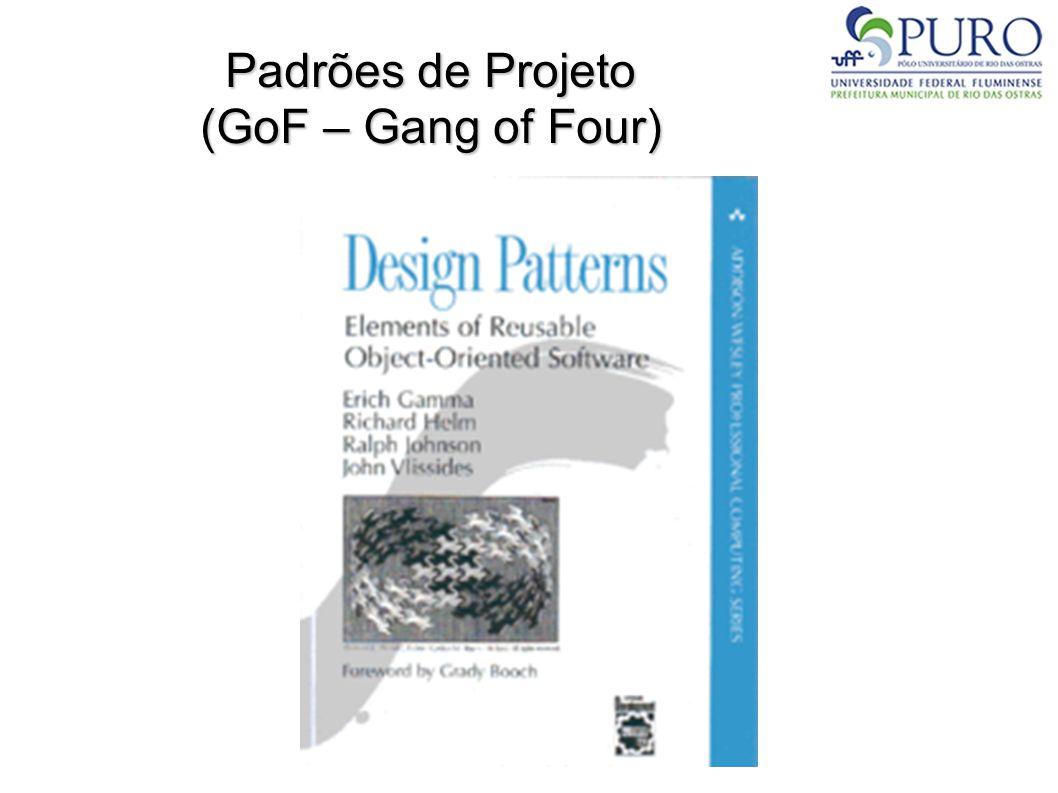 Padrões de Projeto (GoF – Gang of Four)