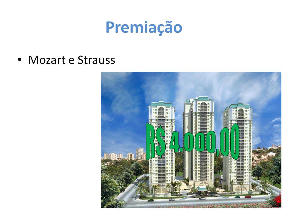 Premiação Mozart e Strauss