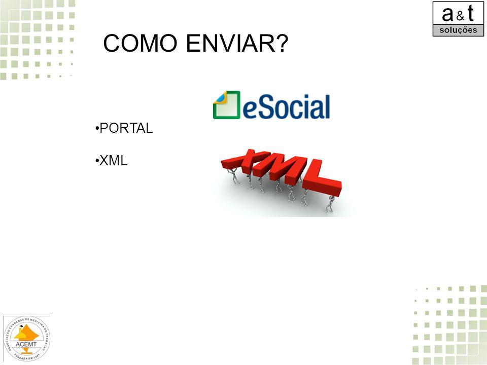COMO ENVIAR? PORTAL XML