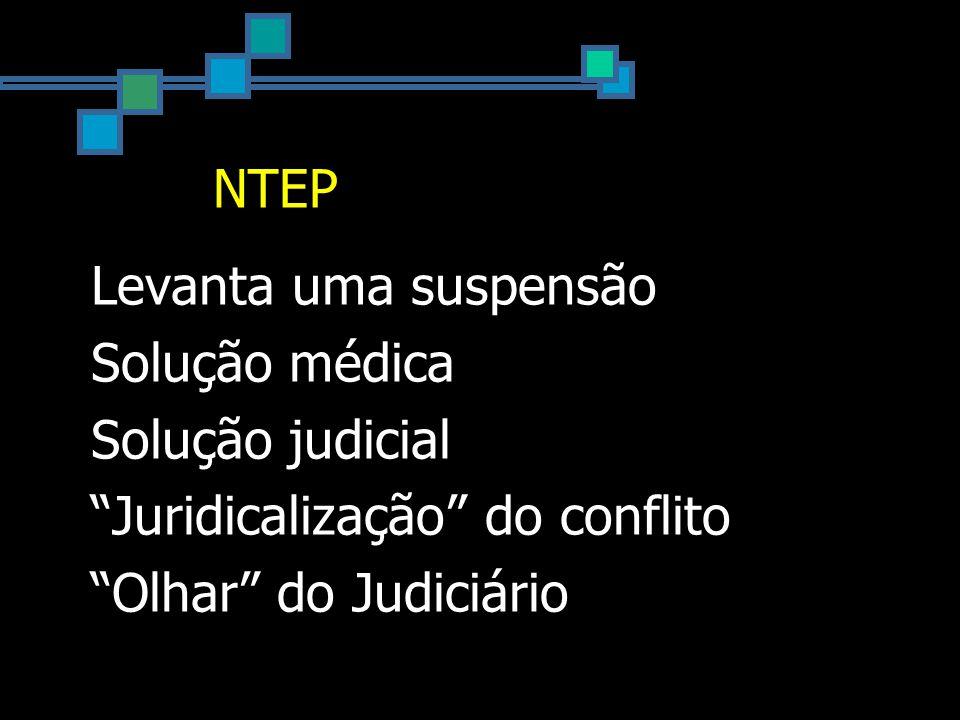 Instrução Normativa 16 Artigo 2º: § 4º A inexistência de NTEP não elide o nexo causal entre o trabalho e o agravo, cabendo à perícia médica do INSS a caracterização do nexo técnico...
