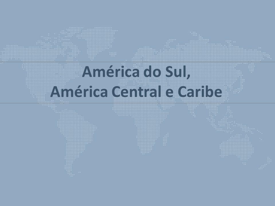 América do Sul, América Central e Caribe