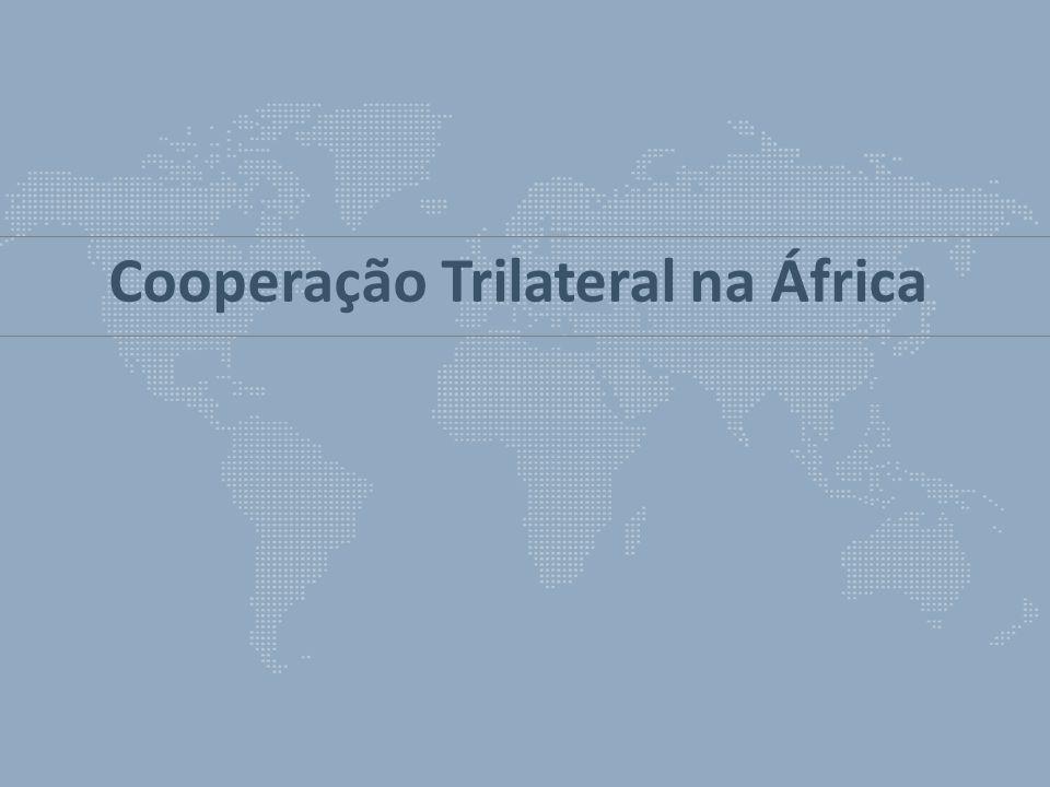 Cooperação Trilateral na África
