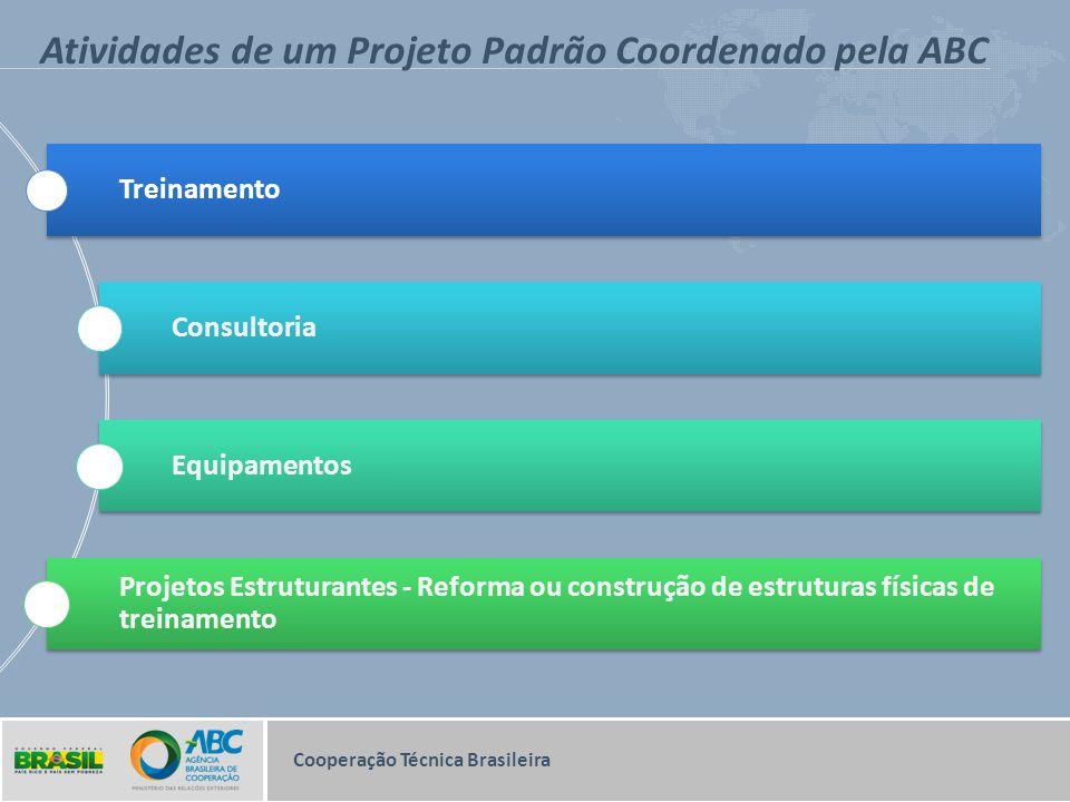 Atividades de um Projeto Padrão Coordenado pela ABC