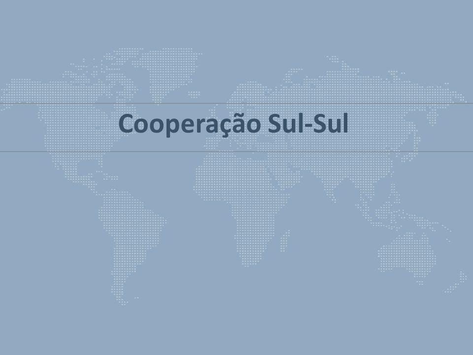 Princípios que regem a Cooperação Sul-Sul Cooperação Técnica Brasileira