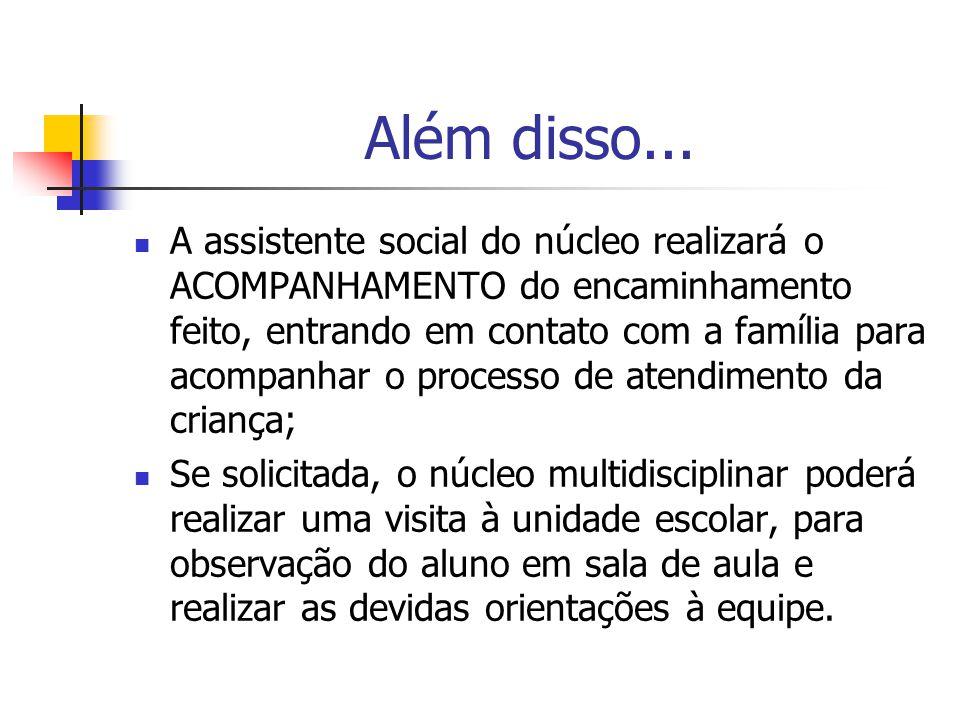 O núcleo: Assistente social: Rita Carla da Silva Oliveira Fonoaudióloga: Aline Polido Psicóloga: Paula Rincón