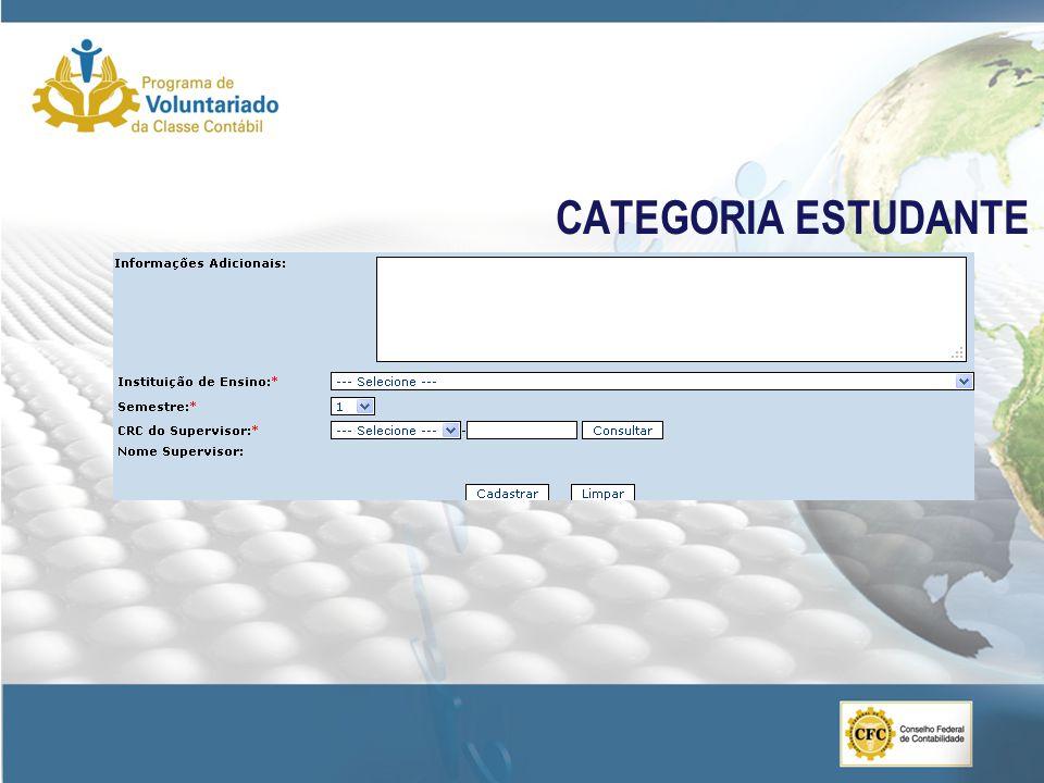 CATEGORIA ESTUDANTE