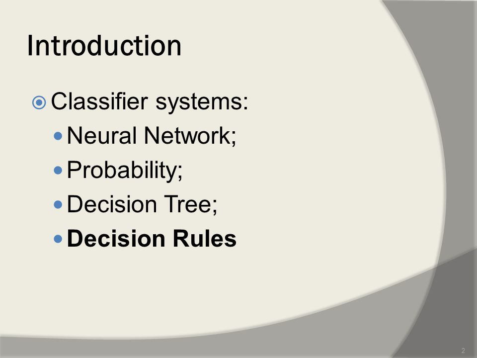 IIntroduction  A SAME SET OF FEATURES IS GOOD TO CLASSIFY ALL THE OBJECTS IN A GIVEN DATASET??.