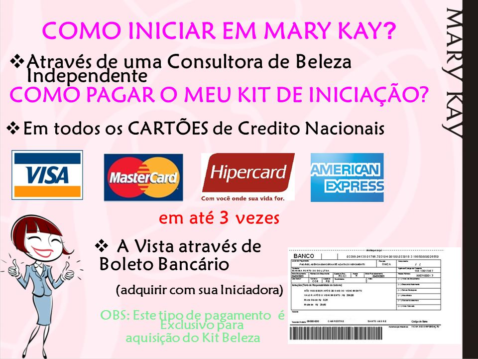 NÉGOCIO MARY KAY Consultora de Beleza Independente CARREIRA Ganhos Consultora de Beleza BÔNUS EM DINHEIRO 4% 6% 8% 9% 12% 13% 25% a 40 % de Lucro Nas Vendas