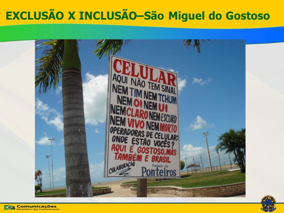 EXCLUSÃO X INCLUSÃO–São Miguel do Gostoso