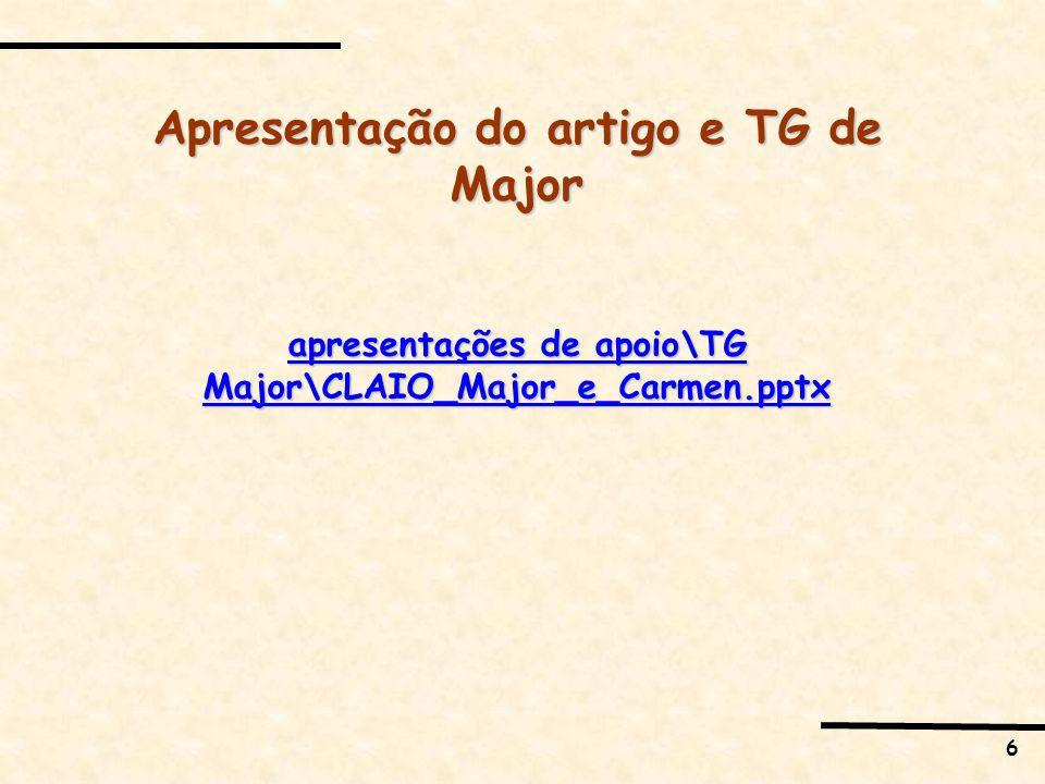 6 Apresentação do artigo e TG de Major apresentações de apoio\TG Major\CLAIO_Major_e_Carmen.pptx apresentações de apoio\TG Major\CLAIO_Major_e_Carmen.pptx