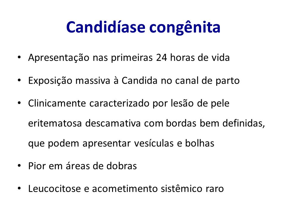 Candidemia persistente.