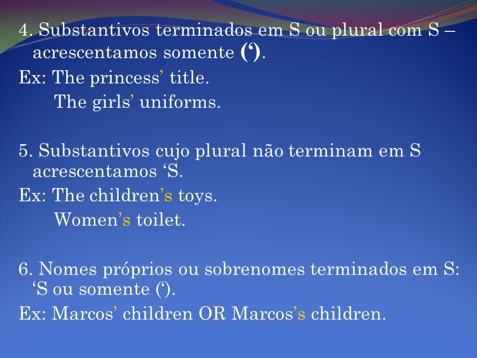 7.Nomes próprios históricos ou bíblicos terminados em S.