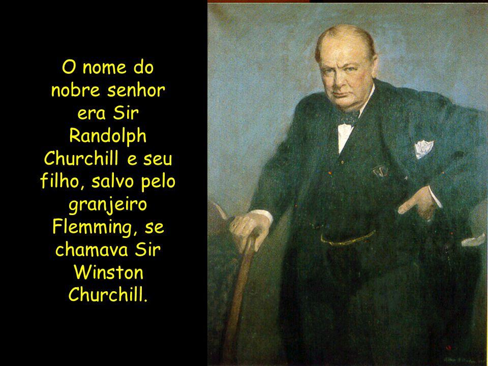 Anos depois, o filho do mesmo nobre estava doente, com pneumonia, e o que salvou sua vida foi a Penicilina.