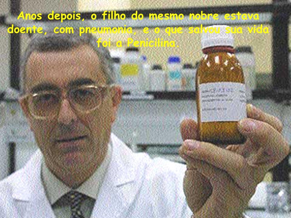 Seu nome: Dr. Alexander Flemming.