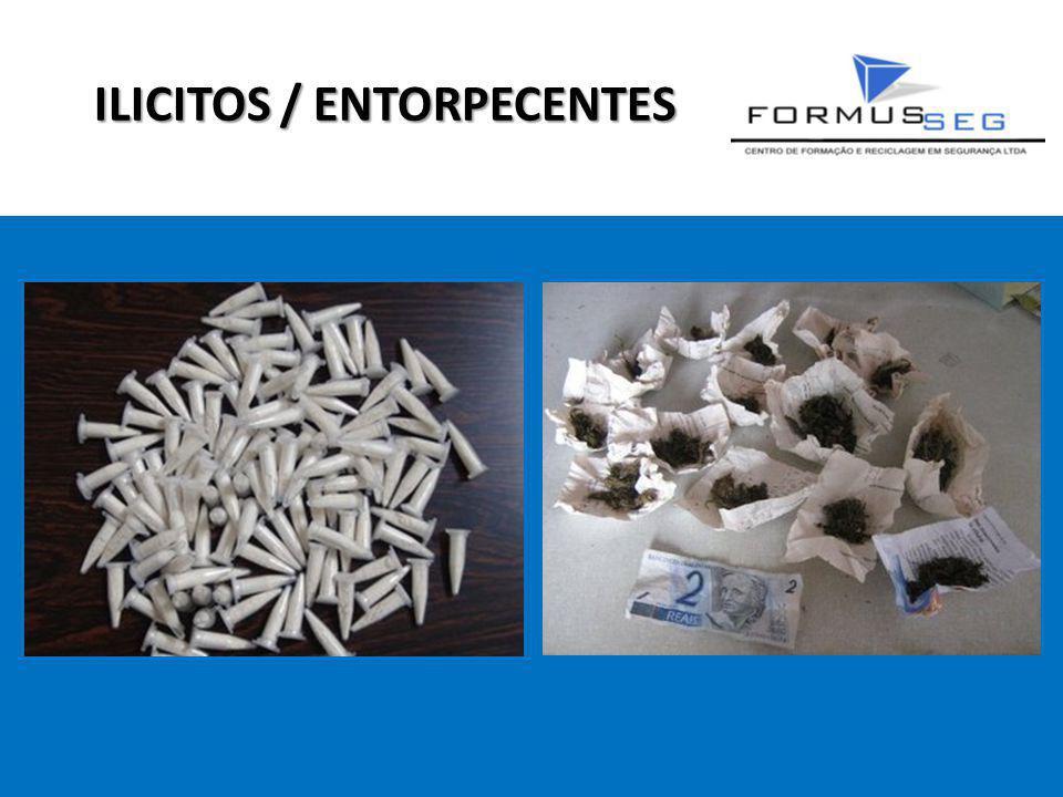 ILICITOS / ENTORPECENTES