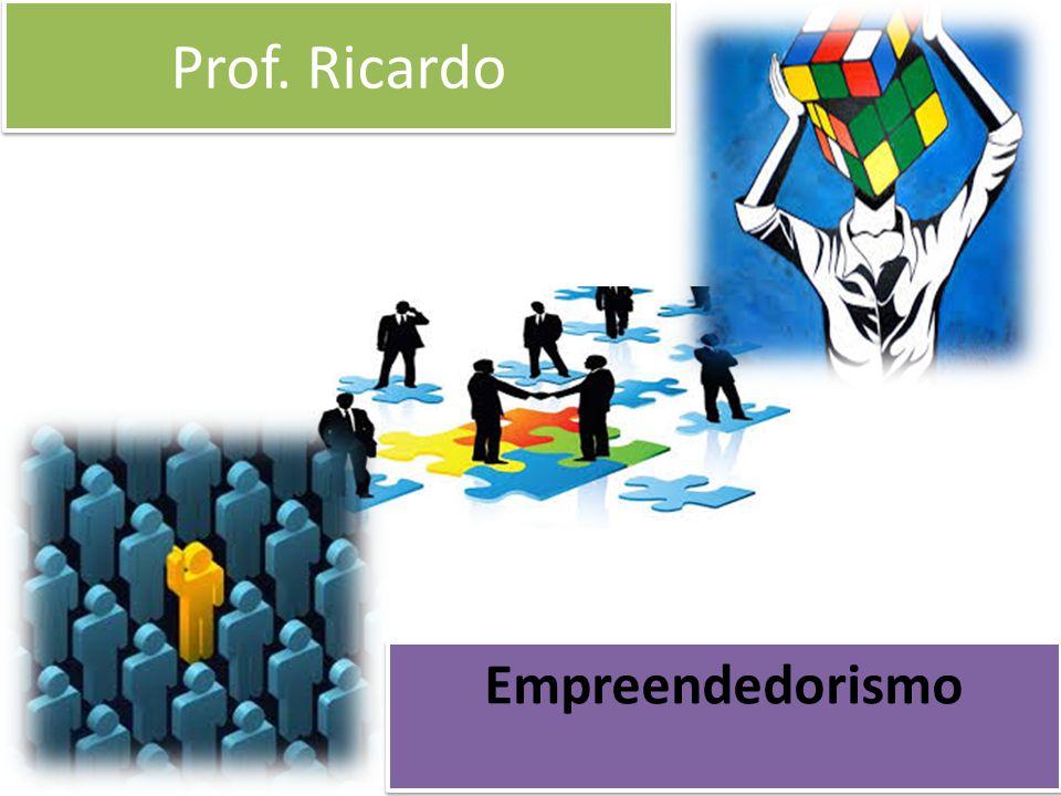 Prof. Ricardo Empreendedorismo