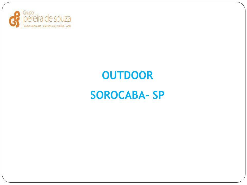 OUTDOOR SOROCABA- SP