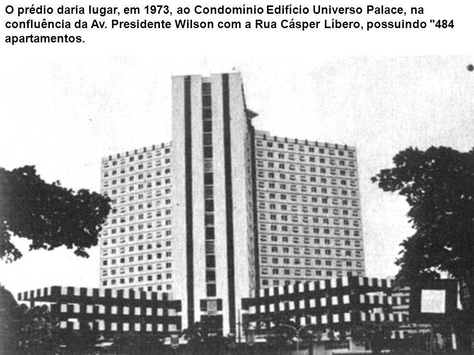 Palace Hotel, no bairro do José Menino, em cartão postal datado de junho de 1916 por um hóspede. O hotel foi inaugurado em 5 de março de 1910 por Manu