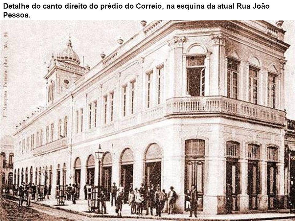 Esta rara imagem do porto de Santos, vista do forte do Itapema, foi cedida a Novo Milênio pelo bisneto do pintor Benedito Calixto, Gilberto Calixto Ri