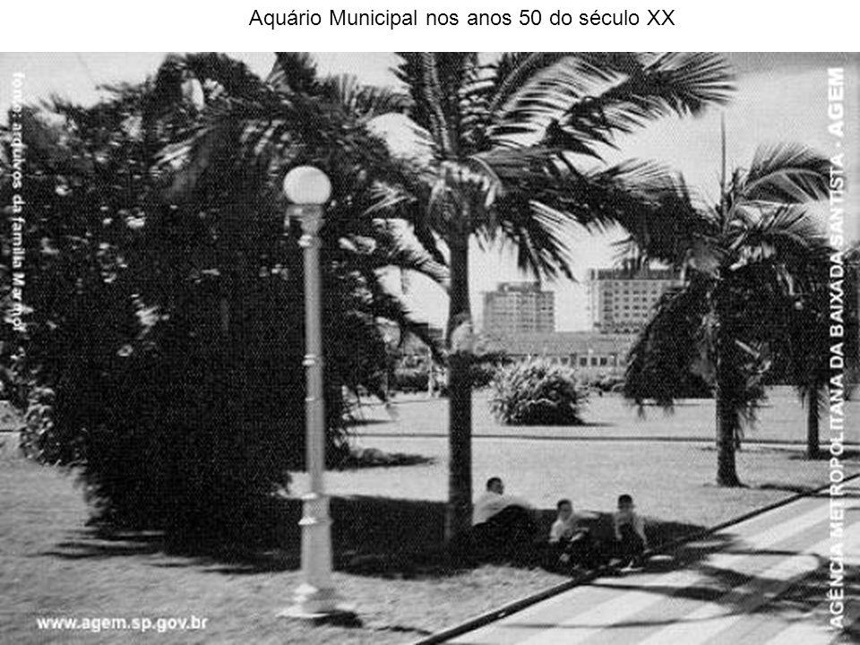 Aquário Municipal nos anos 50 do século XX