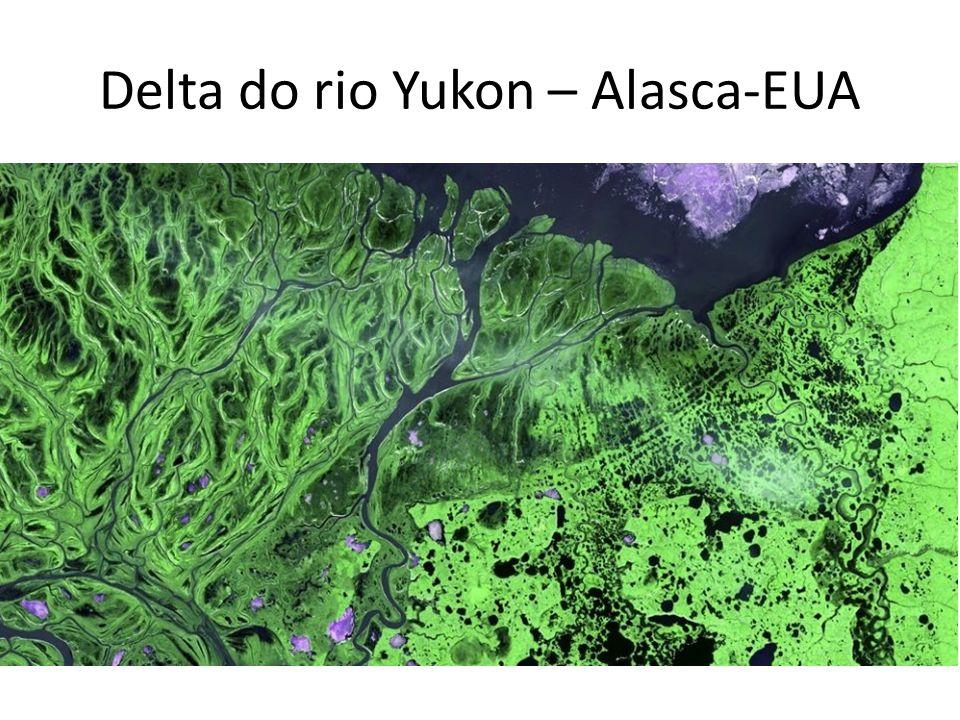 Delta do rio Yukon – Alasca-EUA