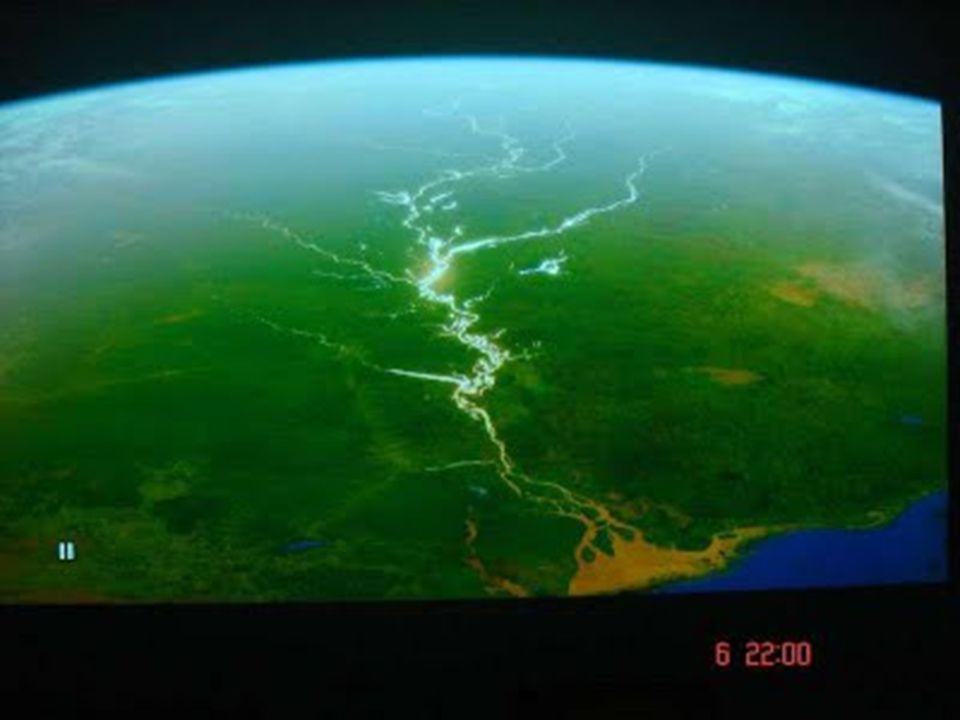 Confluência dos rios Negro e Solimões
